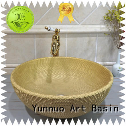 Yunnuo art basin decorative get quote open-air lounge bar