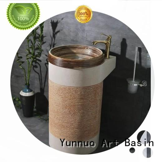 luxury basin pedestal vessel sink ware high quality project