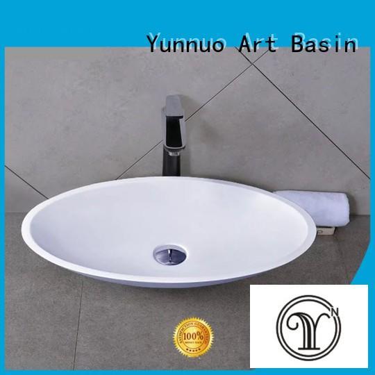 bathroom sink manufacturers industrial design stone Yunnuo art basin Brand